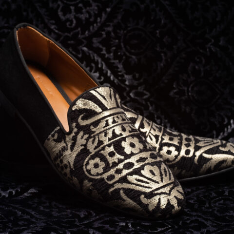 pantofole nero bianco nicolao atelier 3