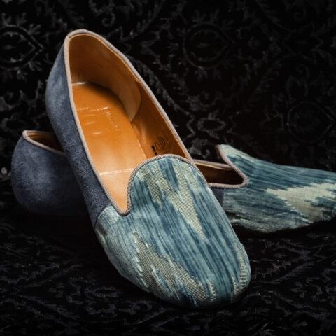 pantofola azzurro verde acaqua nicolao atelier