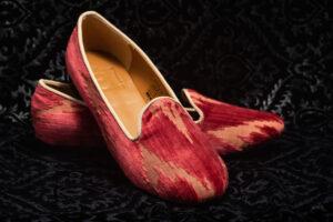 pantofola donna rossa nicolao atelier