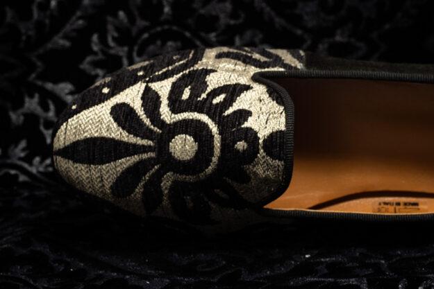 pantofola bianco nero nicolao atelier 3