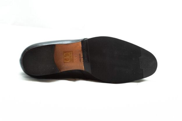 calzatura nero con lacci nicolao atelier 4