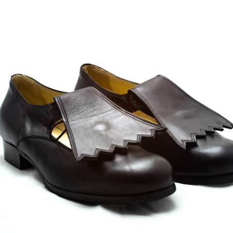 calzatura pantofola con frangia nicolao atelier 1