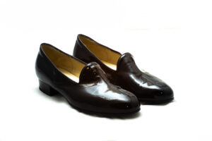 pantofole vernice nera nicolao atelier