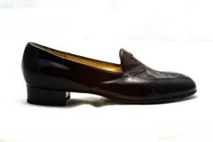 pantofole vernice nera nicolao atelier 4