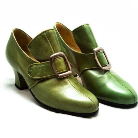 calzatura verde nicolao atelier