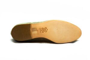 calzatura camoscio verde oliva nicolao atelier 5