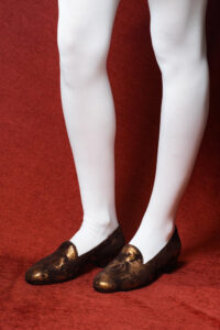 calzatura pantofola marrone nicolao atelier