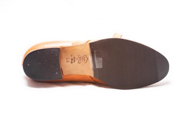 calzatura arancio nicolao atelier 5
