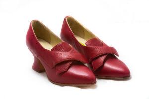 calzatura 700 rosso vitello nicolao atelier