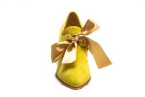 calzatura 700 verde camoscio nicolao atelier 1