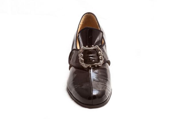calzatura vernice nera nicolao atelier 1