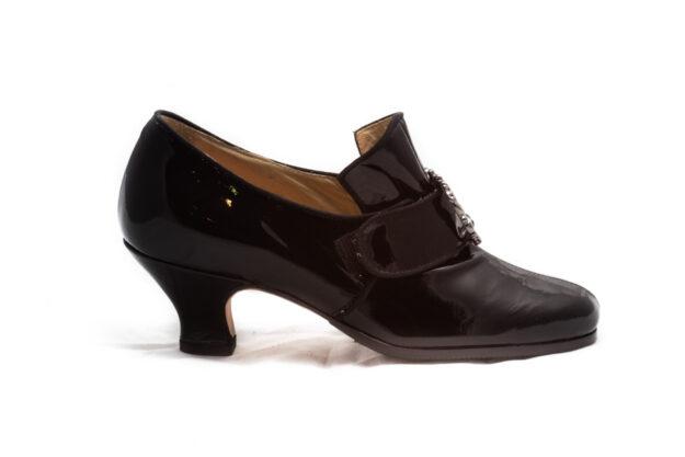calzatura vernice nera nicolao atelier 3