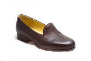 calzatura pantofola nera nicolao atelier venezia 2