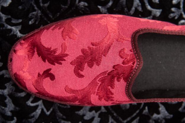 pantofola rossa donna nicolao atelier venezia 4