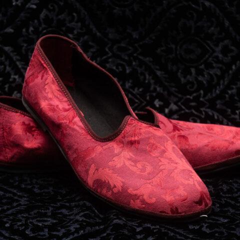 pantofola rossa uomo nicolao atelier venezia
