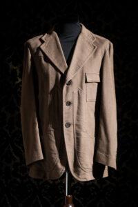 giacca anni '30 marrone nicolao atelier venezia