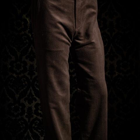 pantoloni fustagno marrone nicolao atelier venezia