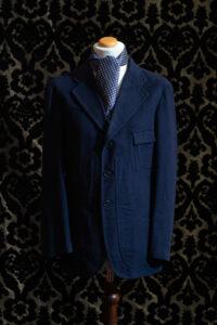 giacca blu nicolao atelier venezia