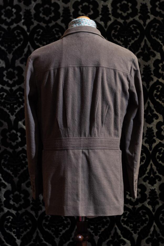 giacca tortora uomo nicolao atelier venezia 3