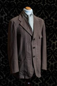 giacca tortora uomo nicolao atelier venezia