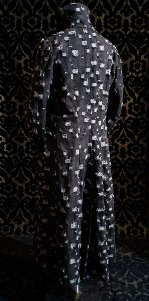 capottino UOMO jean nero nicolao atelier venezia 2