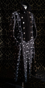capottino UOMO jean nero nicolao atelier venezia