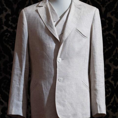giacca anni 30 lino ecrù nicolao atelier venezia