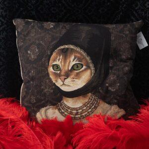 cuscino gatto ragazza nicolao atelier venezia