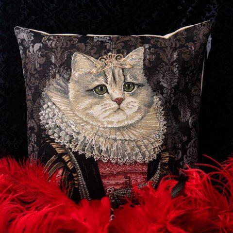 cuscino con ritratto di maria de medici nicolao atelier venezia
