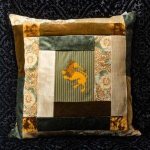 cuscino rubelli tonalità grigio nicolao atelier