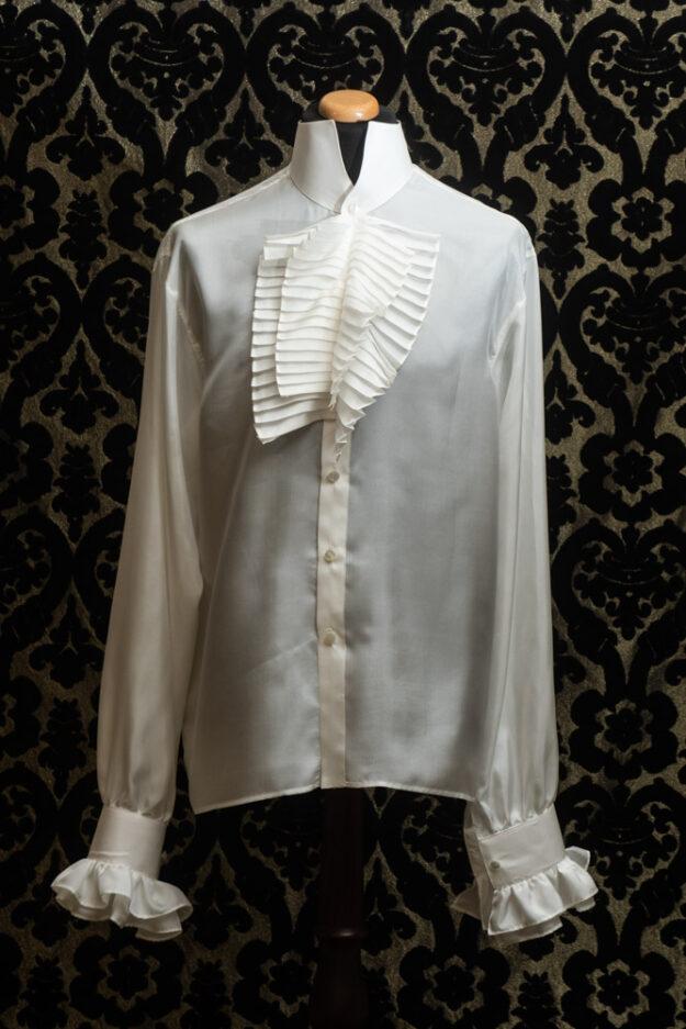 camicia uomo in seta nicolao atelier venezia 3