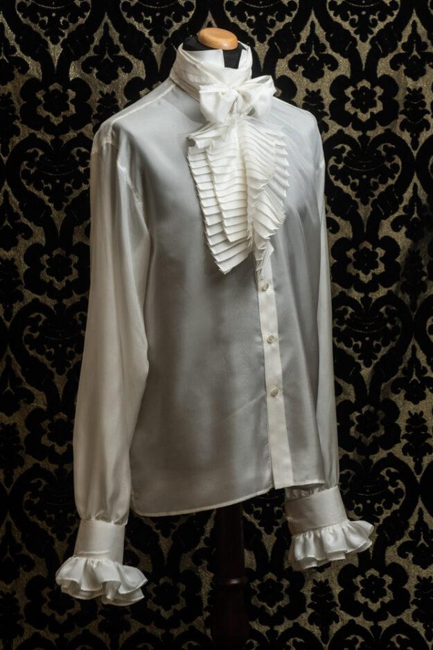 camicia uomo in seta nicolao atelier venezia